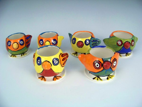 chirpy egg cups
